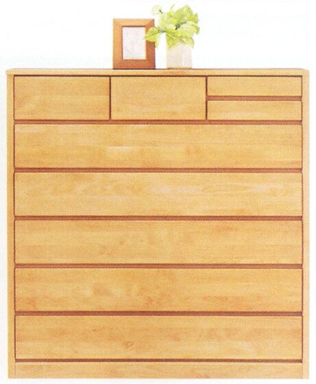 チェスト タンス ハイチェスト ワイドチェスト 幅120cm 6段 木製 国産 シンプル ナチュラル アルダー材 完成品  通販:家具通販 ぴぃーす