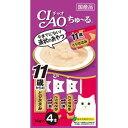 【イナバ】チャオちゅ〜る11歳からのとりささみ1袋(6個入)