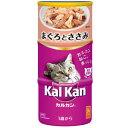 【カルカン】ハンディ缶 1歳から まぐろとささみ 1ケース(160g×3缶×18本)[KHC0…