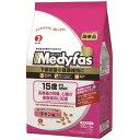 [月得][2]【ペットライン】 メディファス 15歳から 長寿猫用 チキン味 1.5kg