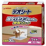 【ユニチャーム】デオシート 足上げワンちゃん 壁貼りガード ワイド 1ケース(30枚×6袋入り)