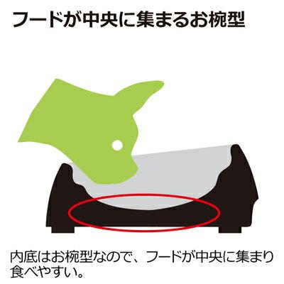 【リッチェル】 食べやすい ドッグディッシュ M 浅型