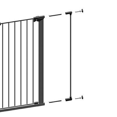 [メーカー直送]【ファイヤーサイド】 北欧デンマーク産のおしゃれで安全なゲート 拡張部品 エクステンションシングル プレミア ホワイト