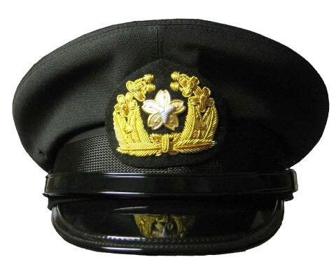 黒ドスキン冬制帽(甲種制帽) (消防/操法/消防団) SH