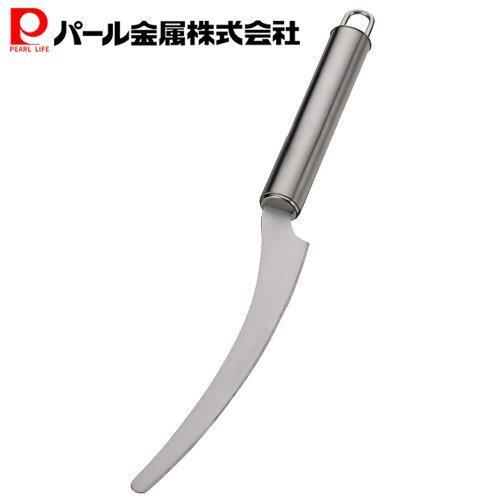 パール金属EEスイーツステンレス製弓形ケーキナイフD-4748