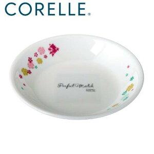 皿 おしゃれ プレート 取り皿 食器 コレール プレート 皿 外径12cm 割れにくい 軽量 ディズニーコレール ミニプレート ミッキー&ミニー・フラワー J405-MKM MA-1319