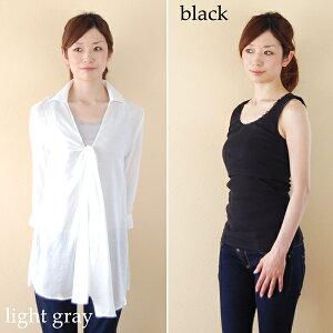 【 授乳服 インナー 授乳用インナー タンクトップ 】※off white、black、light grayが再入荷い...