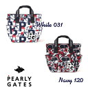 【NEW】【SNOOPY×PEARLYGATES】スヌーピー by パーリーゲイツスヌーピーコラボ 総柄トート型カートバッグ 053-0281005/20D【SNOOPY】・・・