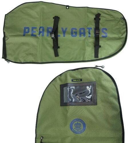 【NEW】PEARLYGATESパーリーゲイツロゴ&サークルプリント定番トラベルカバー7984204/17A