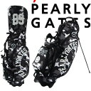 【待望の再入荷】【SMILY-BLACK CAMO】PERLYGATES パーリーゲイツブラックカモ柄スタンドバッグ641-1980100【BLACKCAMO】・・・