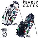 【NEW】PEARLY GATES WAPPEN SMILYパーリーゲイツ・ワッペンスマイリースタンドバッグ発売!641-1980101 【WAPPENSMILY】【WEB限定モデル】・・・