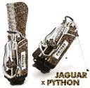 【NEW】PEARLYGATES パーリーゲイツジャガー×パイソン柄スタンドバッグ053-01805...