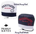 【NEW】PERLY GATES CLUB SMILYパーリーゲイツ・クラブスマイリーアイアンカバー発売!641-1984133【CLUBSMILY21】WEB限定モデル・・・