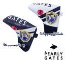 【NEW】PEARLY GATES WAPPEN SMILYパーリーゲイツ・ワッペンスマイリーパターカバー発売!ピン・ブレードタイプ用カバー 641-1984114【WAPPENSMILY】【WEB限定モデル】・・・