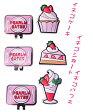 【NEW! POP & STRAWBERRY】PERLYGATES パーリーゲイツストロベリーイチゴスウィーツ イチゴ柄シリコンマーカー 7184409/17B