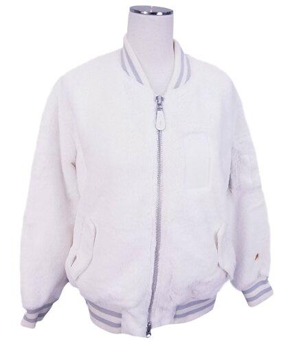 【NEW】PEARLYGATESパーリーゲイツレディースフェイクファージャケットホワイトブルゾン6220104/16D