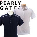 【NEW】PEARLY GATES パーリーゲイツエッセンシャルシリーズ 軽量高密度タフタリンクスビッグチェックメンズ半袖ポロシャツ=JAPAN MADE= 053-1160333/21A【ESSENTIAL】