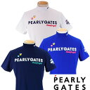 【NEW・WEB限定】PEARLY GATESPOP & TRAD パーリーゲイツ メンズ半袖モックシャツ =JAPAN MADE=641-1967102/21A【PG-EDITION】・・・