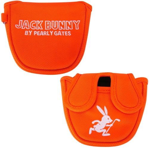 【NEW】JackBunny!!byPEARLYGATESジャックバニーROUNDRABBITビビッドカラーパターカバー2BALL&マレットタイプ【センターシャフト対応】262-7984119/17A