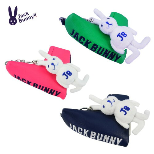 【NEW】JackBunny!!byPEARLYGATESジャックバニーラビットチャーム付きピン(ブレード)パターカバー262-6984103
