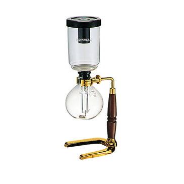 BONMAC (ボンマック) ゴールドサイフォン TCA-2GD-BM (2人用)(889056)【特別セット/アルコールランプ、風防GD付き】