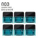 ナンバースリー DEUXER [デューサー] ハードスムースワックス5S 80g 【6個セット】