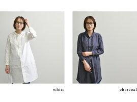 DanaFaneuilダナファヌルワンピースカラーロングシャツ(全2色)【送料無料】【あす楽】【日本製】D6321313