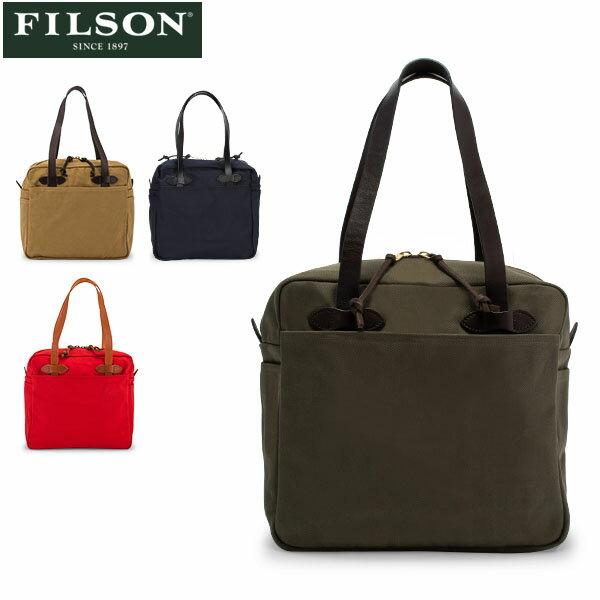 男女兼用バッグ, トートバッグ GW2000 FILSON Tote Bag with Zipper 70261