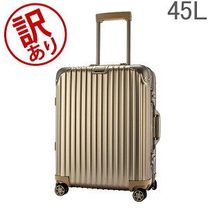 【訳あり】 リモワ RIMOWA トパーズ チタニウム 923.56.03.4 Topas Titanium マルチホイール チタンゴールド (シャンパンゴールド) スーツケース 4輪 45L