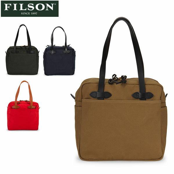 男女兼用バッグ, トートバッグ  FILSON Tote Bag with Zipper 70261