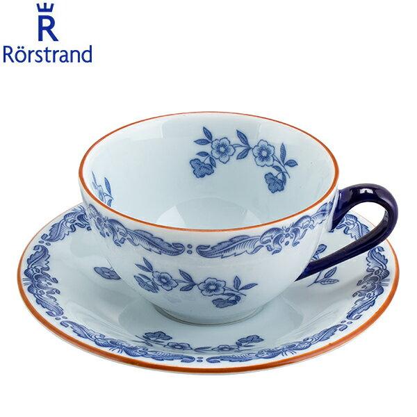 マグカップ・ティーカップ, カップ&ソーサー  Rorstrand 1011701 1011703 Ostindia Coffee Cup Saucer
