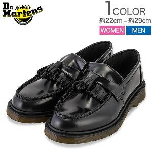 【お盆もあす楽】 最大1000円OFFクーポン ドクターマーチン Dr. Martens エイドリアン タッセル ローファー Adrian R24369001 ブラック Black Icons M レディース メンズ レザー 靴