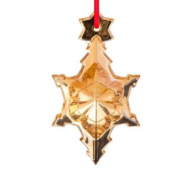 バカラ Baccarat クリスマスオーナメント ノエル ゴールド 雪の結晶 クリスタル クリスマス 2811538 Noel Ornament [4,999円以上送料無料] 新生活
