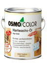 【送料無料】オスモカラー #3062 フロアークリアー つや消し 2.5L 屋内木部用 自然塗料