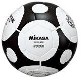 【ラッキーシール対象】品番:FLL333-WBK限定特価MIKASA【ミカサ】フットサルボール4号 フットサル検定球(白×黒)在庫処分FリーグFLL288上級モデル