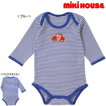 mikihouse/ミキハウス★肌着★ドライブプッチー長袖★ボディシャツ【size70c/80c/90cm】