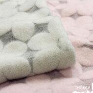 パイル花柄ジャガードモッサー起毛(160cm幅)