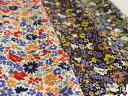 レギンスパンツやメンズハーフパンツにおすすめ☆伸縮性のある花柄コットン生地20チノストレッ...