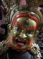 ◆ヴァジュラ・パーニ(金剛手)像◆仏教 チベット