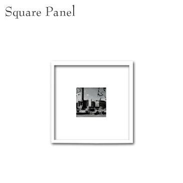 壁掛け モノトーン アートパネル スクエア ロンドン 街並み パネル 白黒 モダン 写真 ポスター おしゃれ インテリア 正方形
