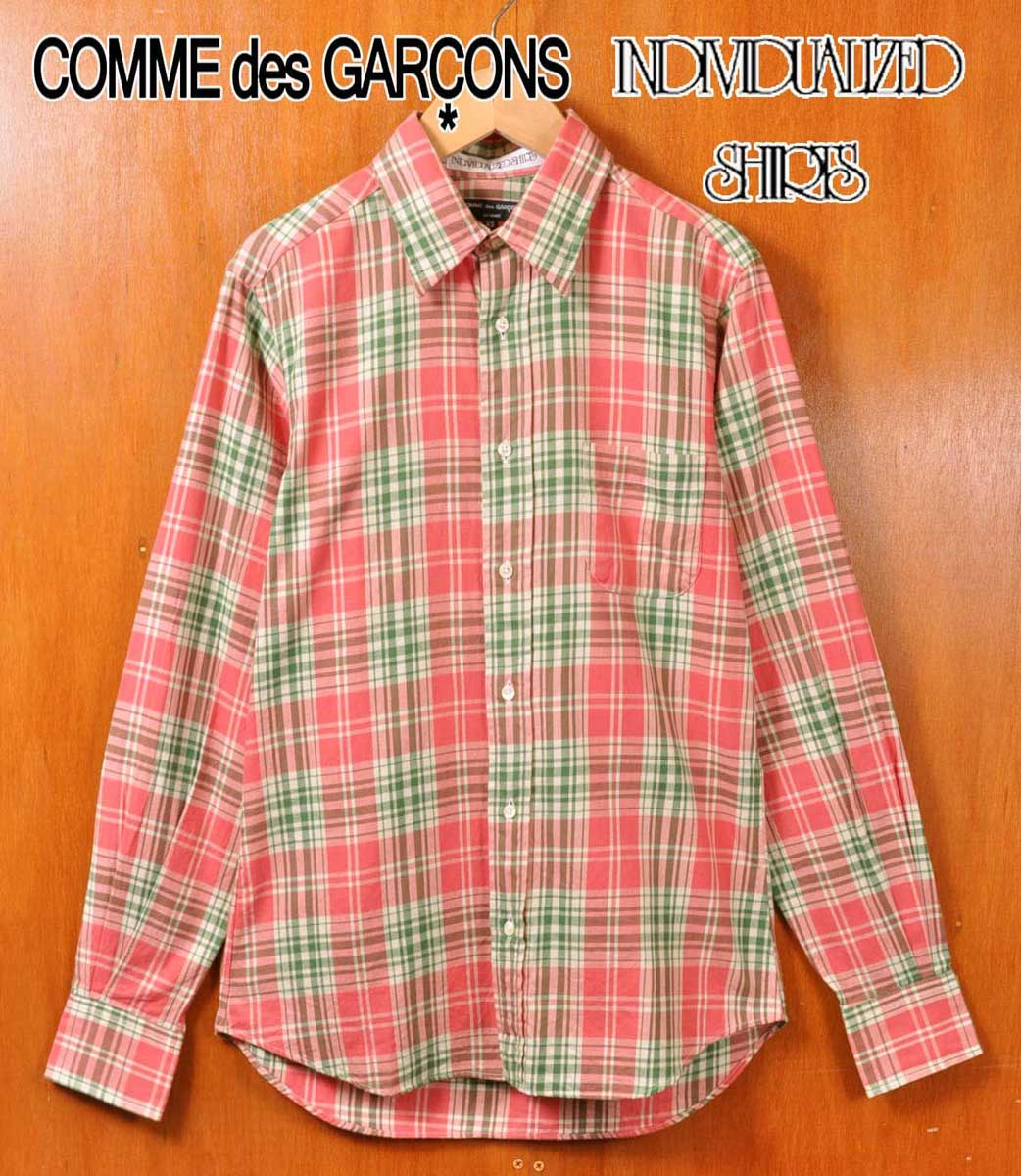 トップス, カジュアルシャツ 2013 USA COMME des GARCONS HOMMEindividualized shirts XS
