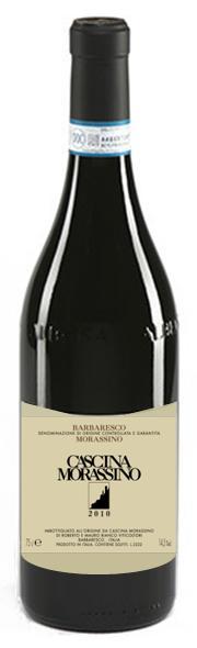 """【イタリアワイン】《CascinaMorassino》【Barbaresco""""Morassino""""DOCG2010】カシーナ・モラッシーノバルバレスコモラッシーノ2010750ml(赤ワイン)ネッビオーロ100%"""