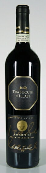 【イタリアワイン】《Trabucchid'illasi》【AmaronedellaValpolicellaRiservaDOC2004】トラブッキディッラージアマローネデッラヴァルポリチェッラリゼルヴァDOC2004750ml(赤ワイン)