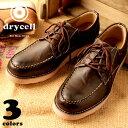 drycell/ドライセル DC16 アンティークフィニッシュ ブーツ ローカット メンズ シューズ