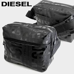 DIESEL ディーゼル X-BOLD CROSS ボディバッグ バムバッグ 斜め掛け メンズ レディース X07796 P3893 T8013