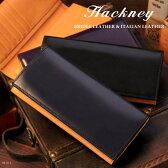 Hackney/ハックニー ブライドルレザー&イタリアンレザー HK-012 長財布