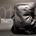 MICHAEL LINNELL/マイケルリンネル A.R.M.Sシリーズ MLAC-01 リュック バックパック 29L メンズ アーミーコーティング 多機能 ブラック
