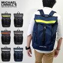 MICHAEL LINNELL/マイケルリンネル ML-025 Roof リフレクター リュックサック バックパック 28L A4 鞄 レディース メンズ