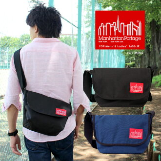 ManhattanPortage/ マンハッタンポーテージ 1605-JR CASUAL MESSENGER BAG/ casual messenger bag /Nylon nylon