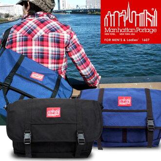 ManhattanPortage / Manhattan Portage 1607 URBAN MESSENGER BAG / urban Messenger bag /Nylon nylon